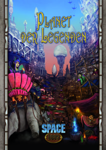 Planet der Legenden Coverpreview 2D