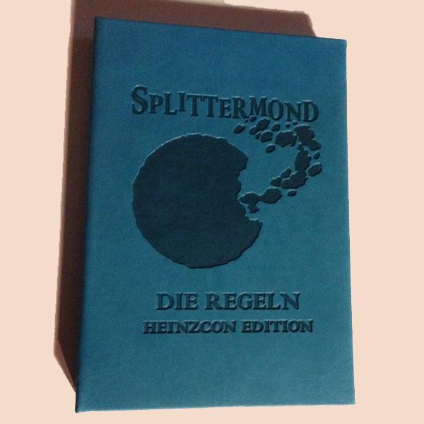 Splittermond - Die Regeln - Taschenbuch - HeinzCon Edition