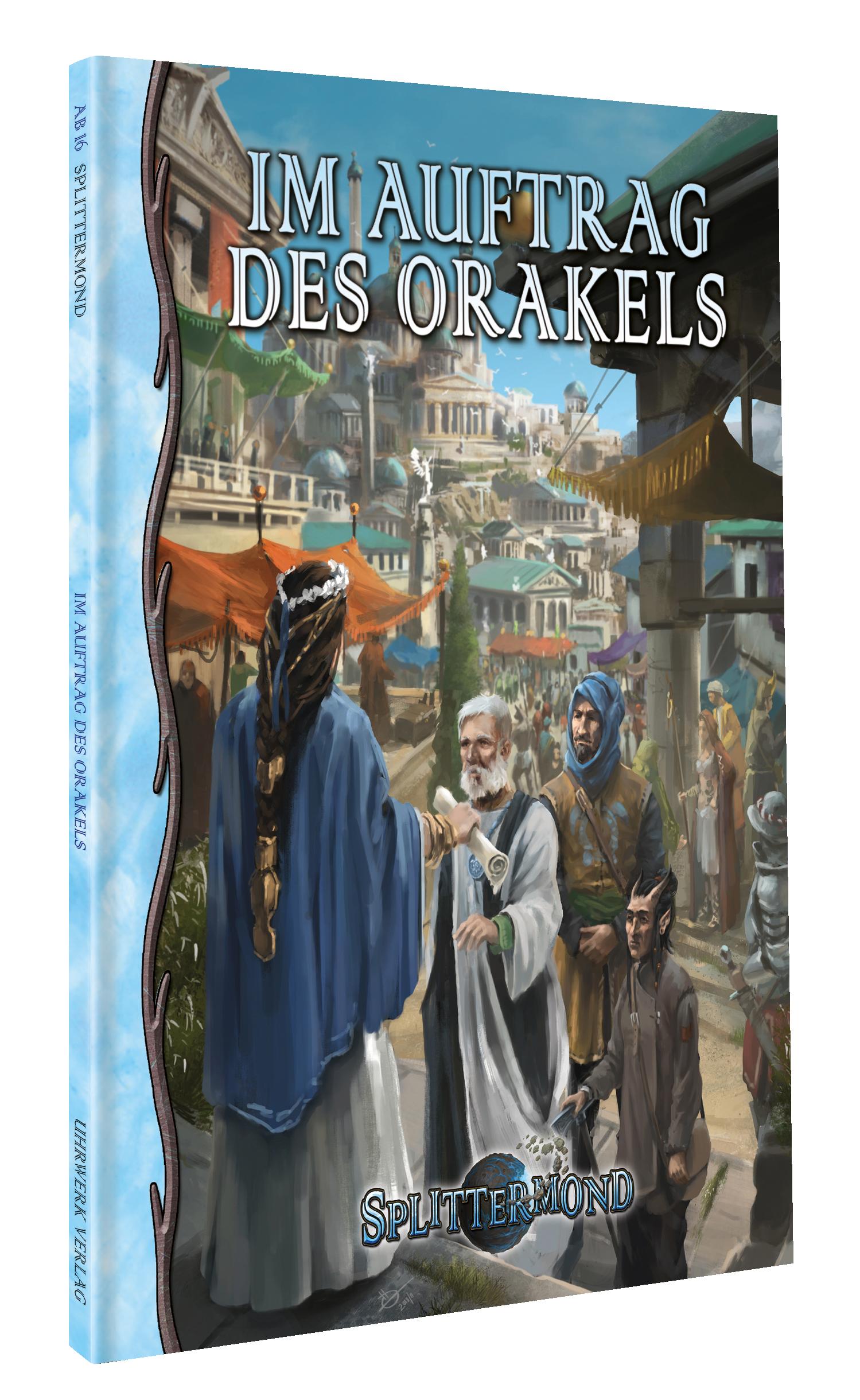 Jetzt zum Vorbestellen: Im Auftrag des Orakels und Banden & Orden