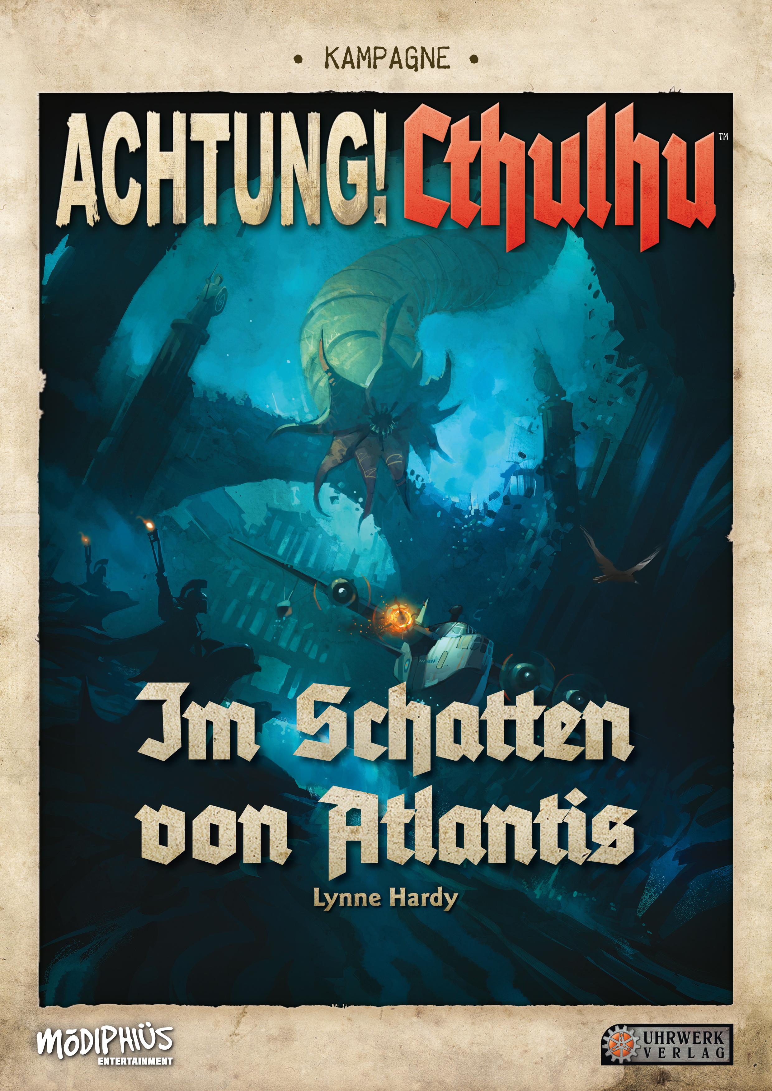Konige Der Finsternis Karte.Achtung Cthulhu Uhrwerk Verlag